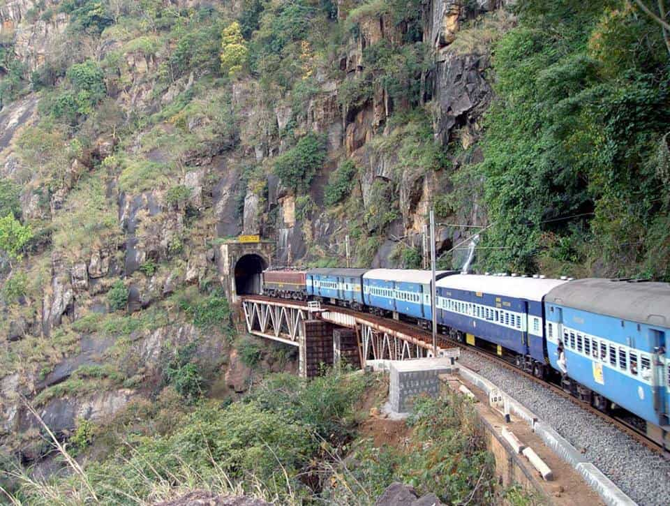 A few of the train Journeys on the longest paths in India