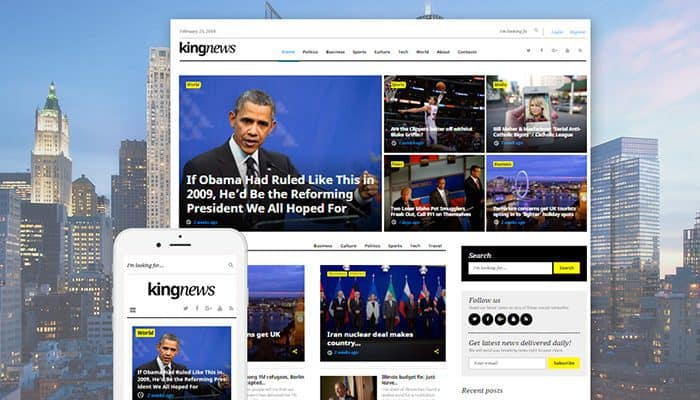 11 Wonderful WordPress Themes for News Website