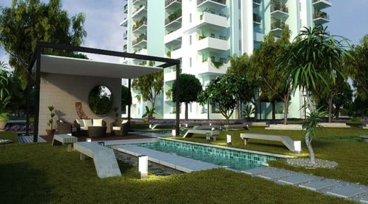 Godrej Meridien Front Project location
