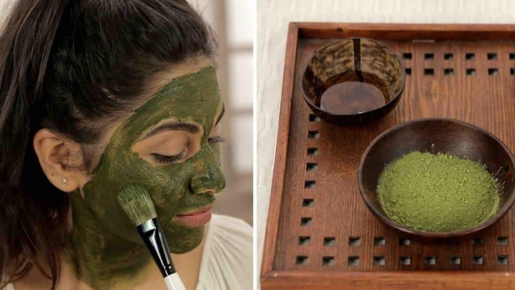 Green Tea Mud Mask to Erase Acne Scars