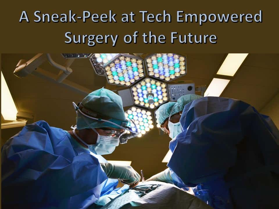 Tech Empowered Surgery of the Future