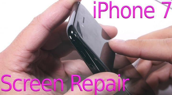 How to Replace a Broken Screen on an iPhone 7 Plus
