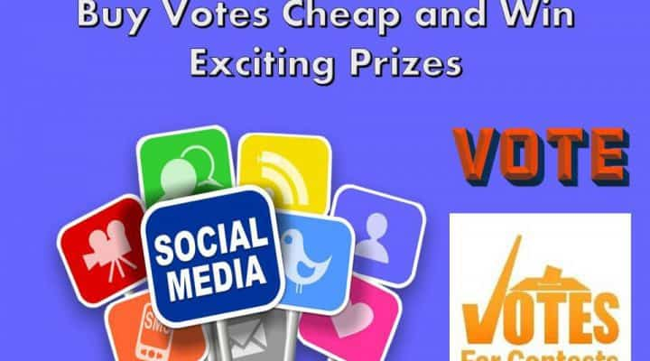 Buy Votes Cheap and Win Exciting Prizes