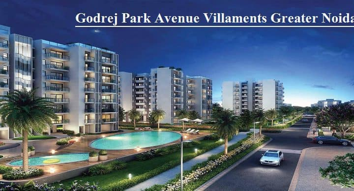 High Quality Villa Sized Homes from Godrej Park Avenue in Greater Noida