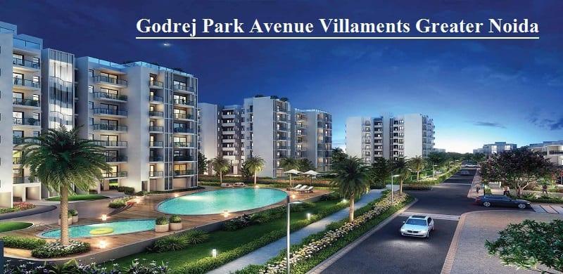 Godrej Park Avenue Villaments