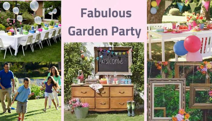 Fabulous Garden Party ideas it's definitely changes mood