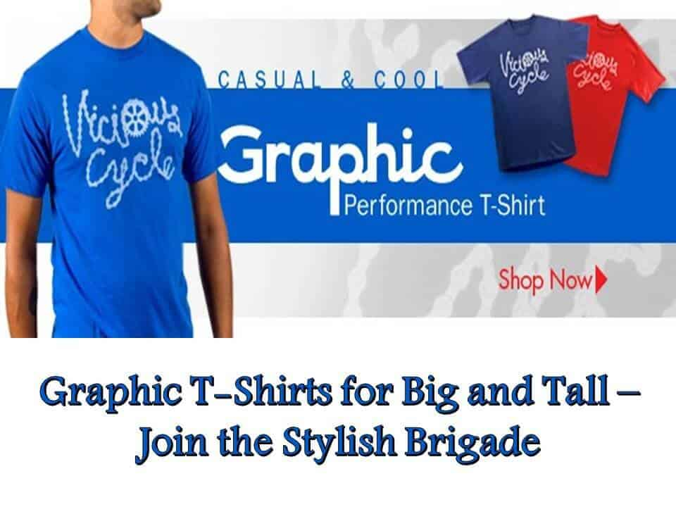 Graphic TShirts for Big and Tall