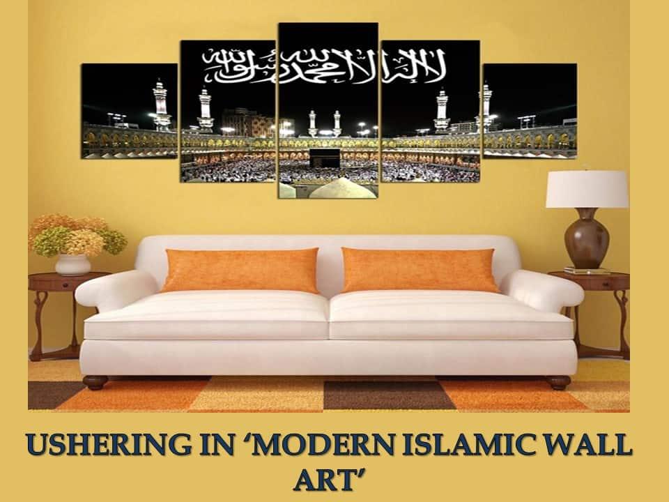 USHERING IN MODERN ISLAMIC WALL ART