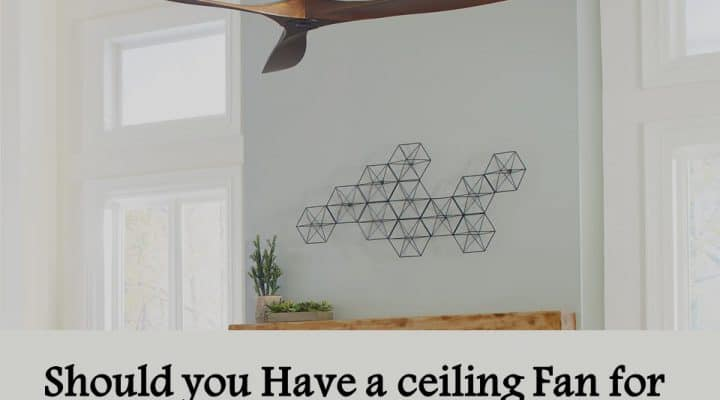 Should you Have a ceiling Fan for Your Room