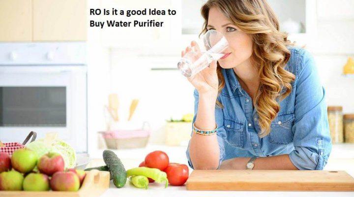 RO Is it a good Idea to Buy Water Purifier