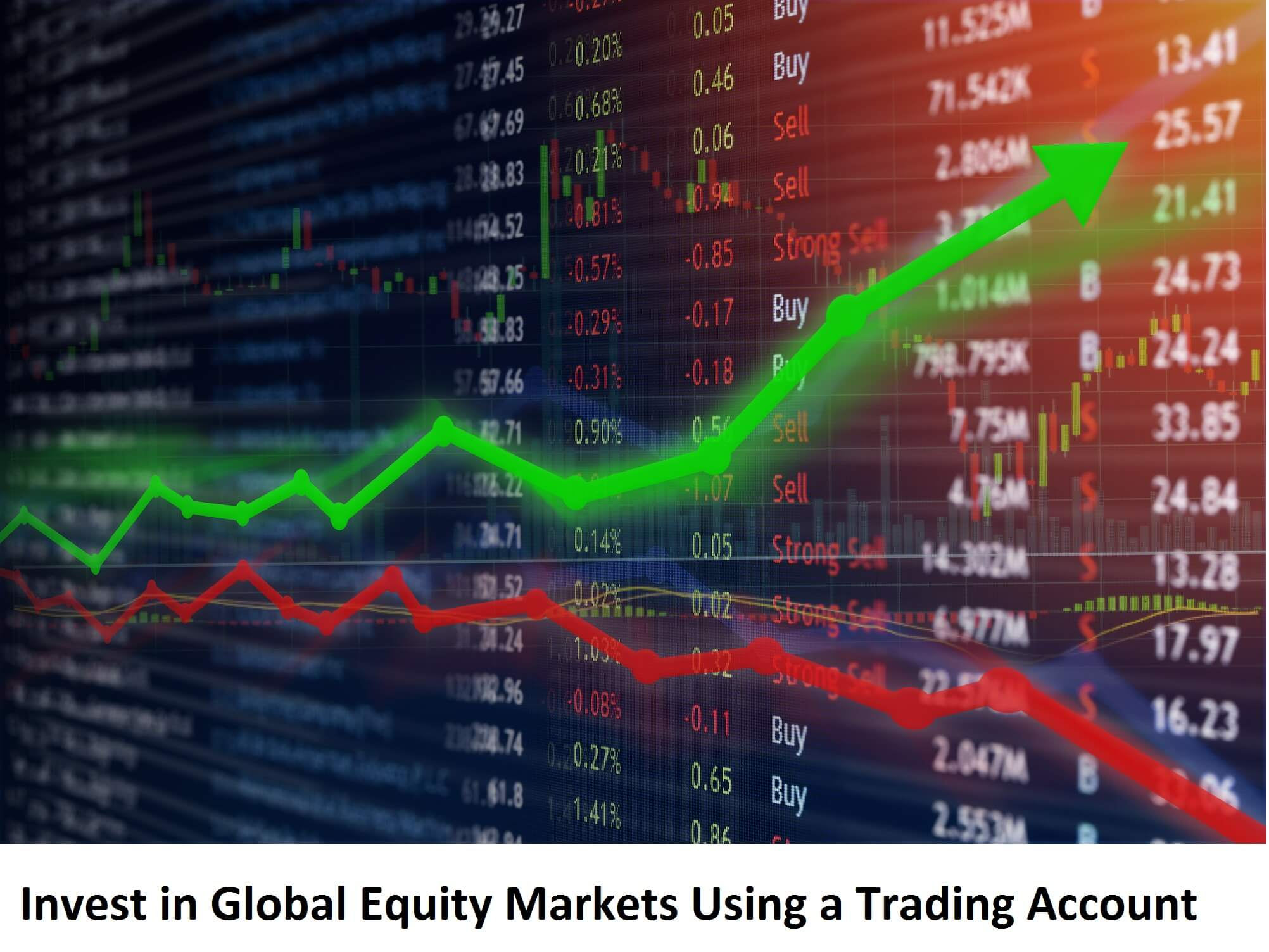 Unique Ways to Invest in Global Equity Markets Using a Trading Account