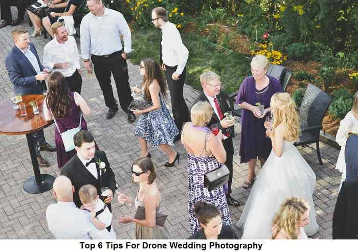 Top 6 Tips For Drone Wedding Photography