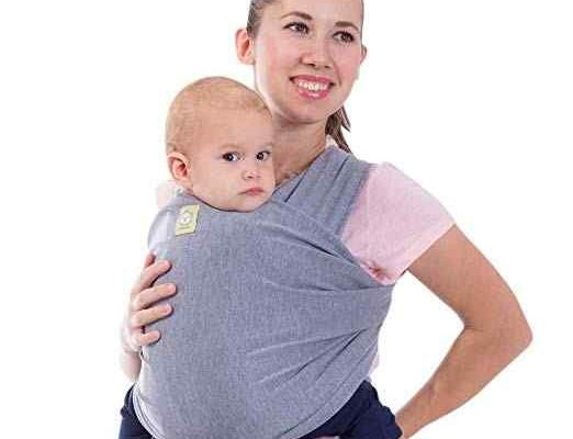 Safety precautions while using a baby wrap carrier