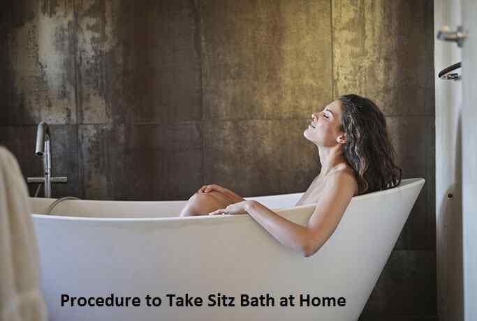 Procedure to Take Sitz Bath at Home