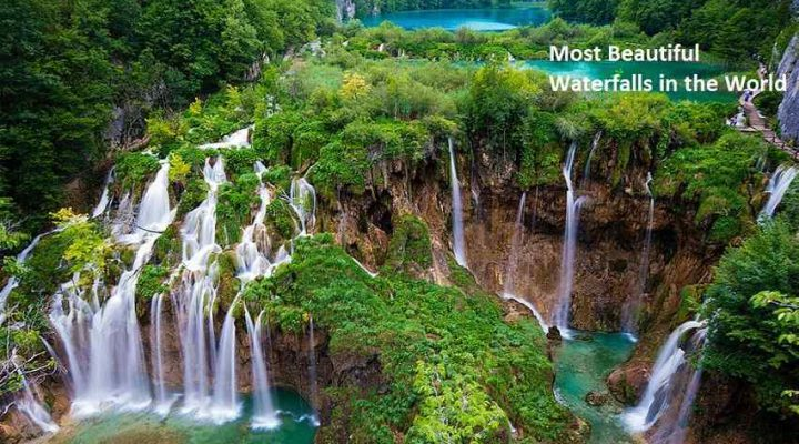 beautiful waterfalls in the world