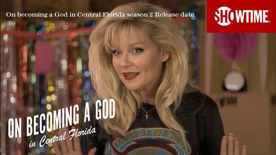 On becoming a god in central Florida season 2 Release date