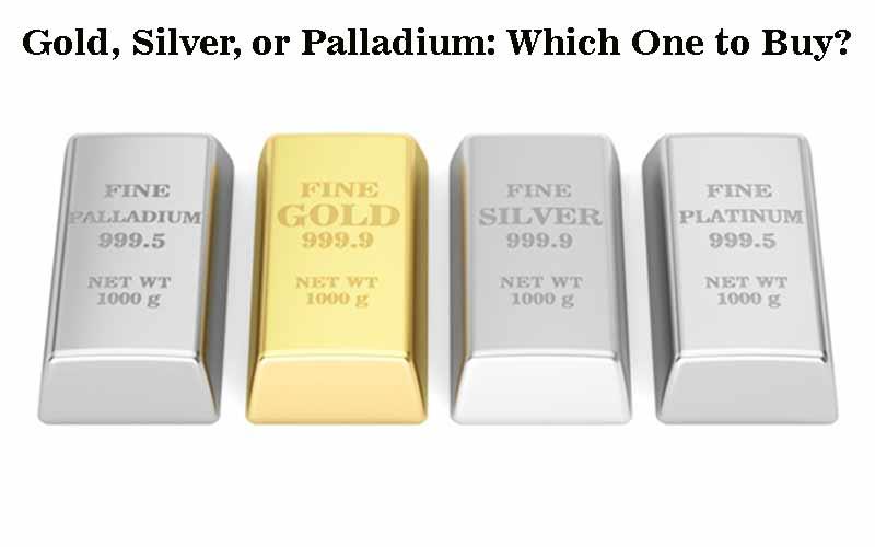 Gold, Silver, Platinum