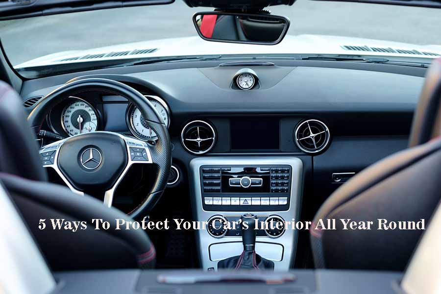 5 Ways To Protect Your Car Interior