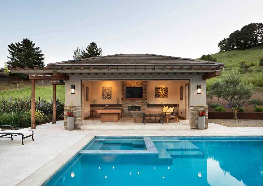3 Pool House Design Ideas