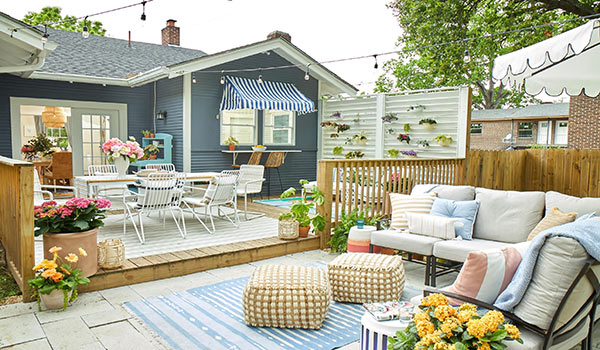 home's outdoor space